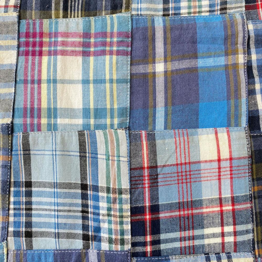 Patchwork Nantucket Madras Plaid Fabric - George