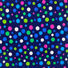 Navy Party Dot Print Broadcloth