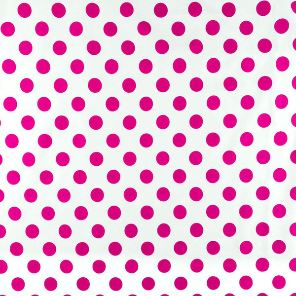 "Polka Dot Large 58/60"" (White Background)"