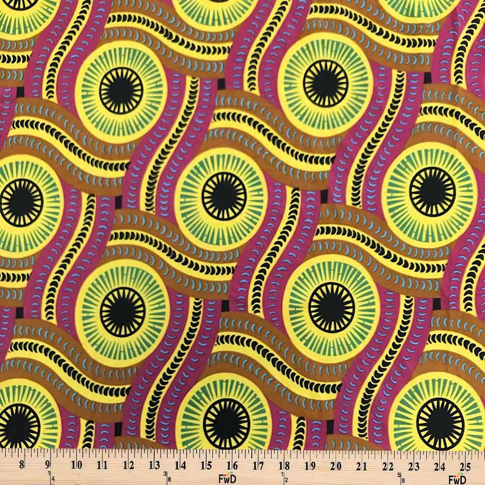 Serpent African Print DTY Brushed (2-3)