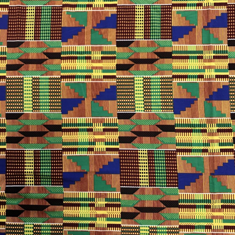 Kente African Print DTY Brushed (3-1)