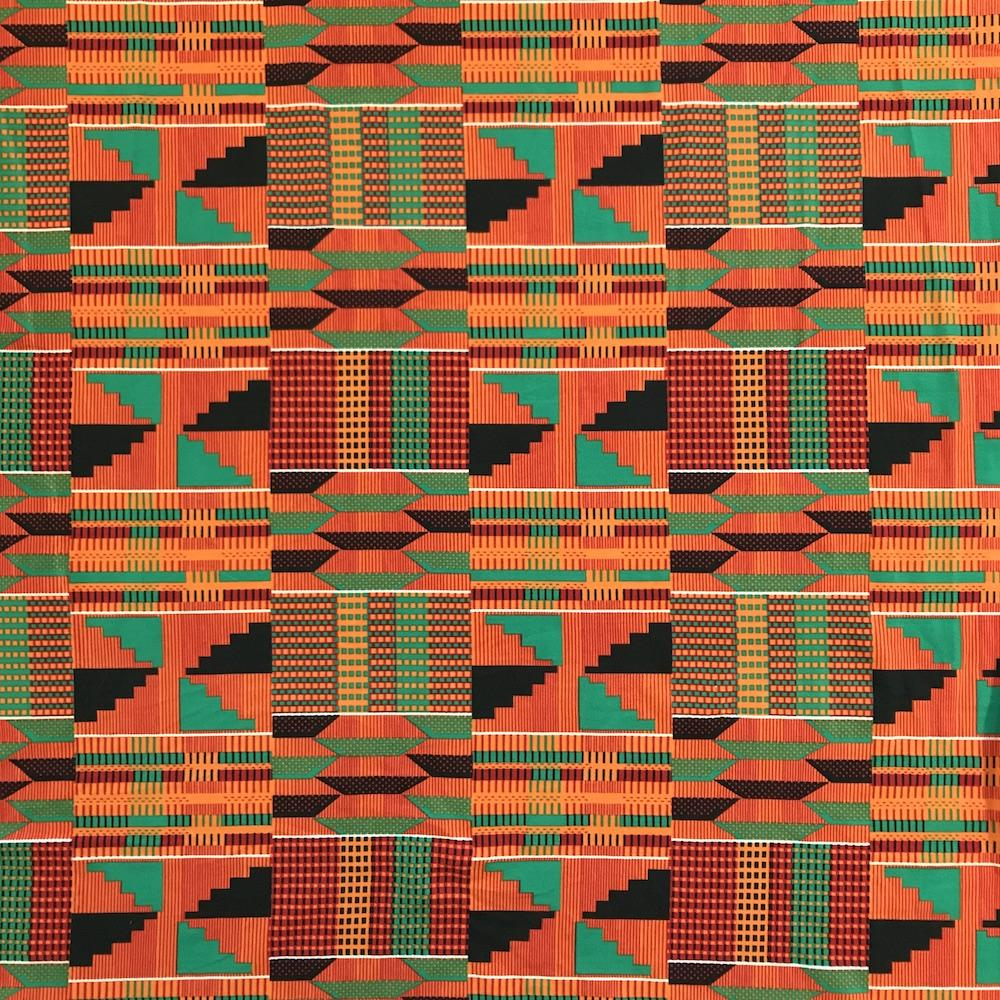Kente African Print DTY Brushed (3-2)
