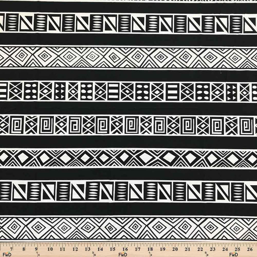 Aztec Printed DTY Brushed (4-1) Fabric