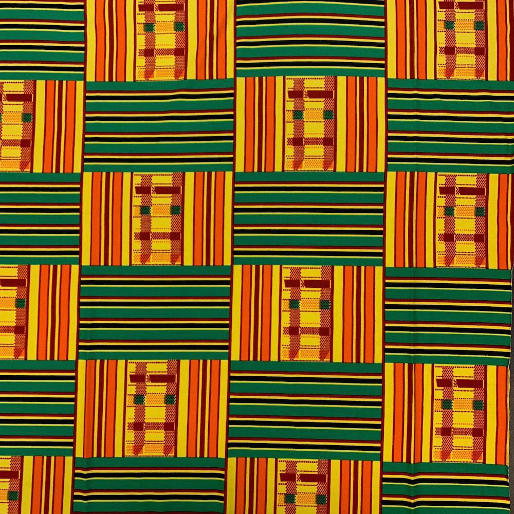 Kente African Print DTY Brushed (20-2)