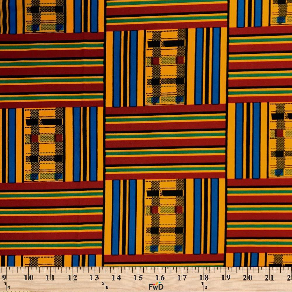 Kente African Print DTY Brushed (20-3)