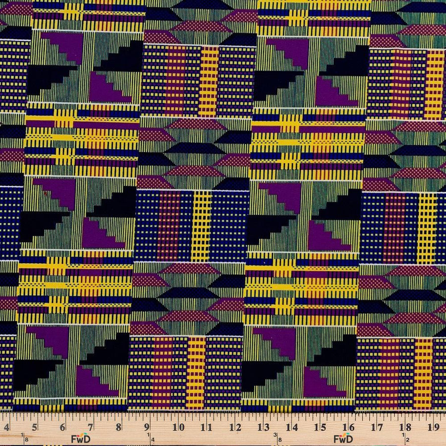 Kente African Print DTY Brushed (3-3)