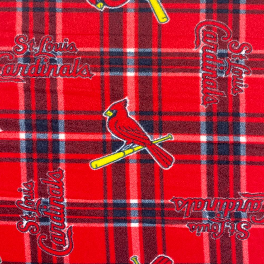 St. Louis Cardinals MLB Fleece Fabric