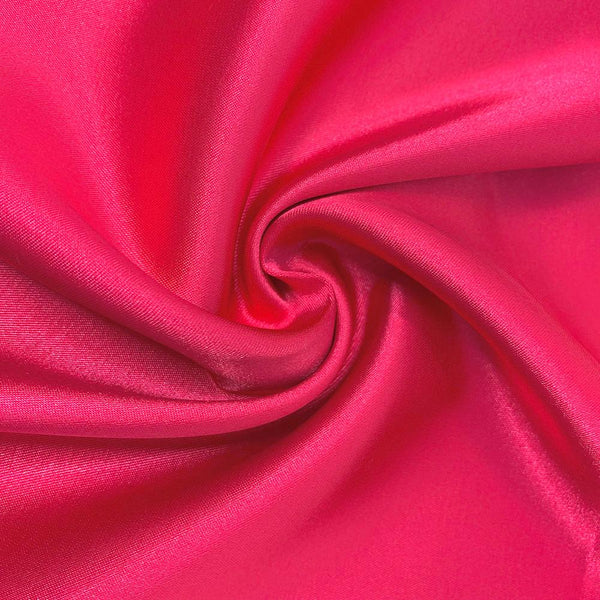 Charmeuse Satin polyester fabric 60 Wide BLUSH Solid Silky Shinny 75 Yards ROLL WHOLESALE
