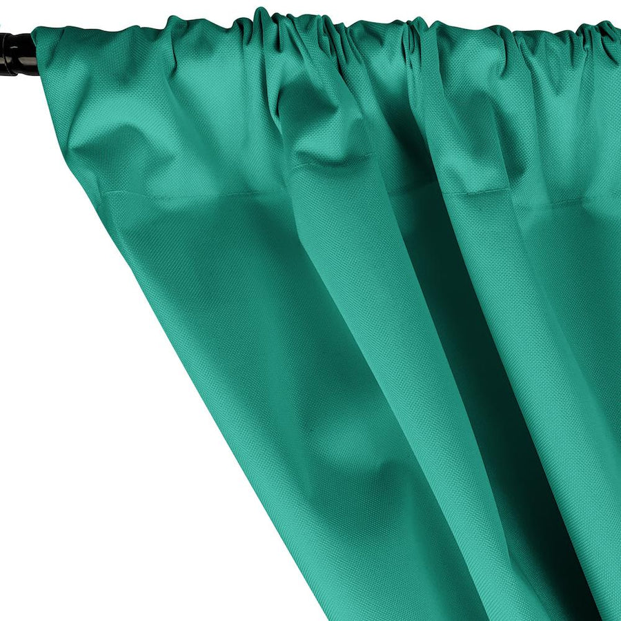 Ottertex® Canvas Waterproof Rod Pocket Curtains - Teal