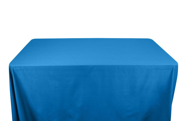 Stretch Broadcloth Banquet Rectangular Table Covers - 6 Feet