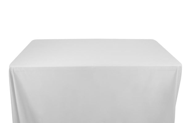 100% Cotton Broadcloth Banquet Rectangular Table Covers - 6 Feet