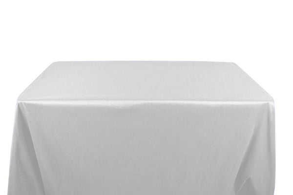 Stretch Taffeta Banquet Rectangular Table Covers - 6 Feet