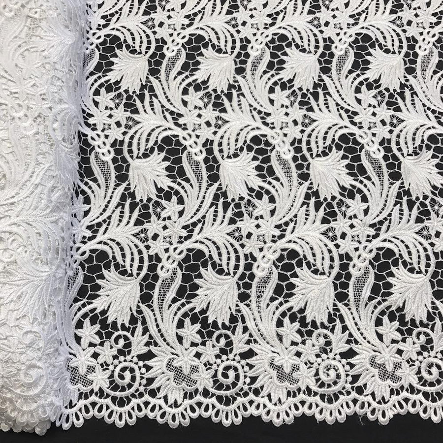 Daphne Guipure French Venice Lace Fabric