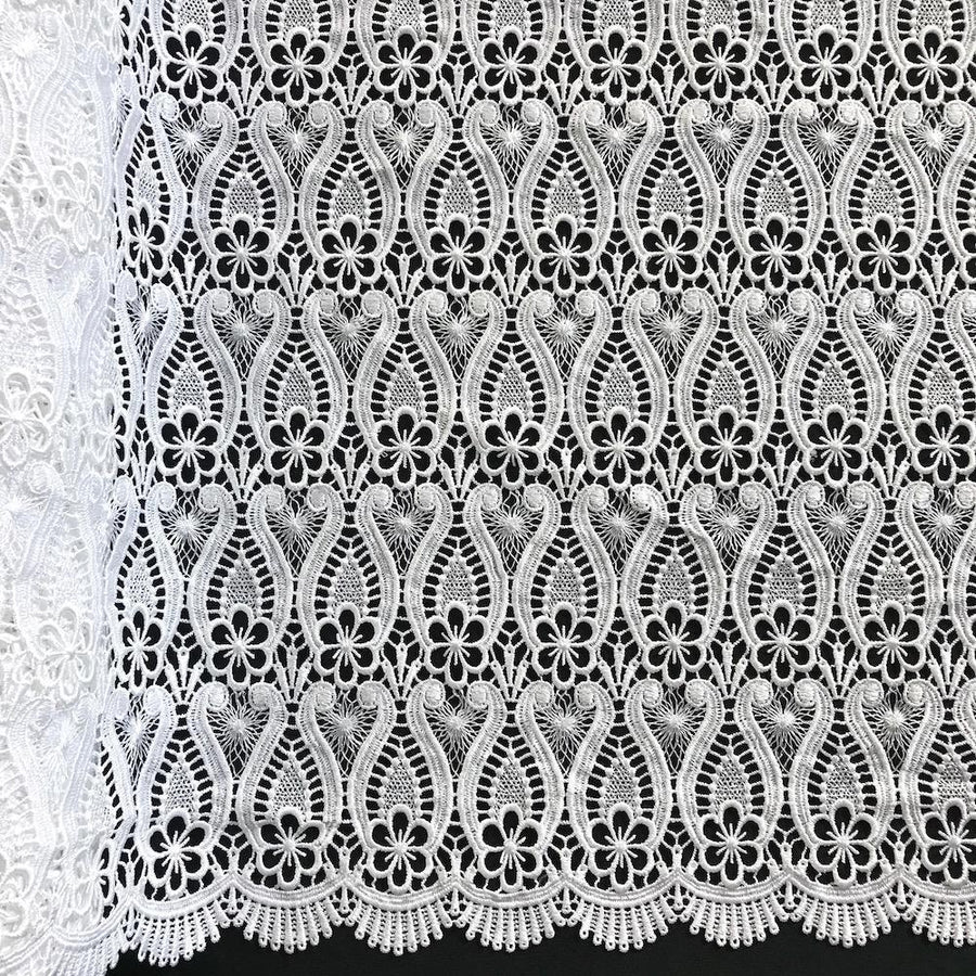 Iris Guipure French Venice Lace Fabric