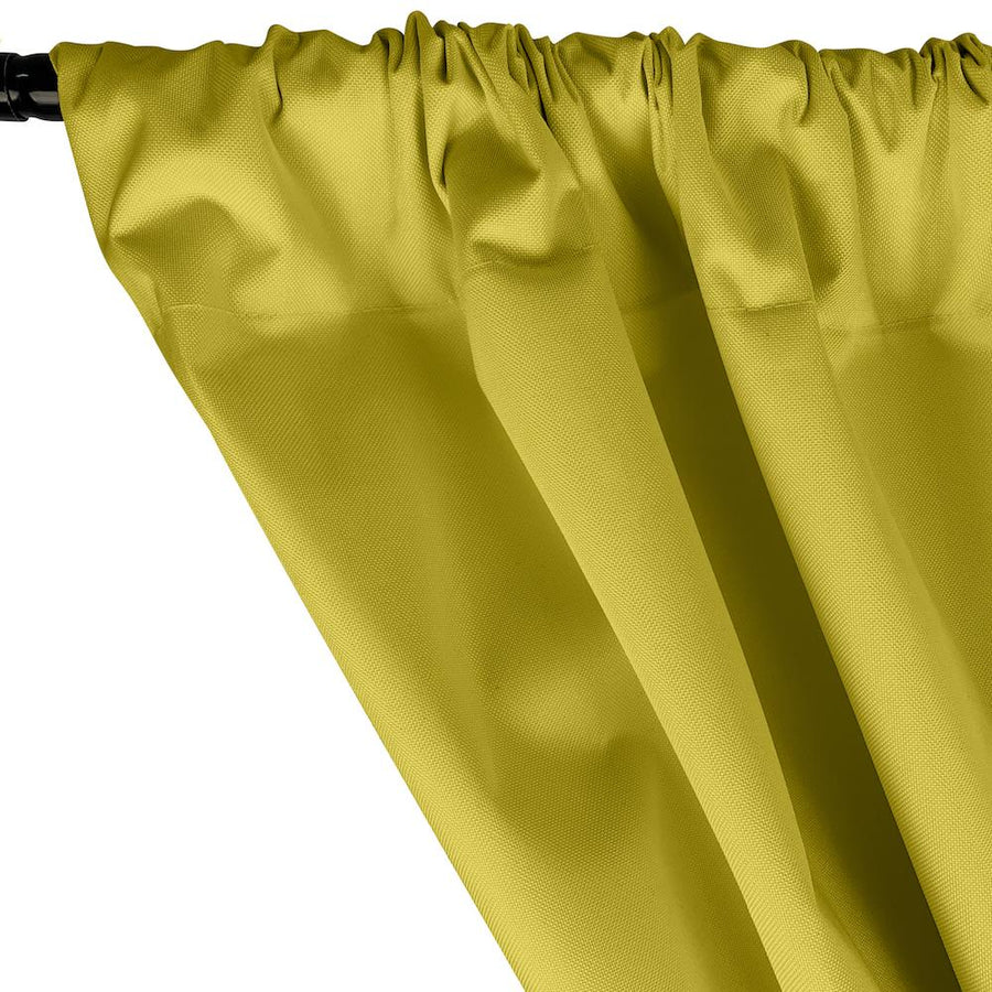 Ottertex® Canvas Waterproof Rod Pocket Curtains - Yellow