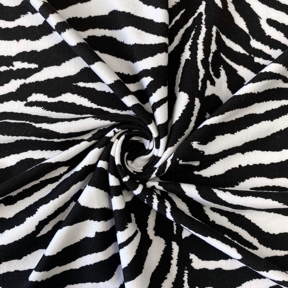 Zebra Printed DTY Brushed