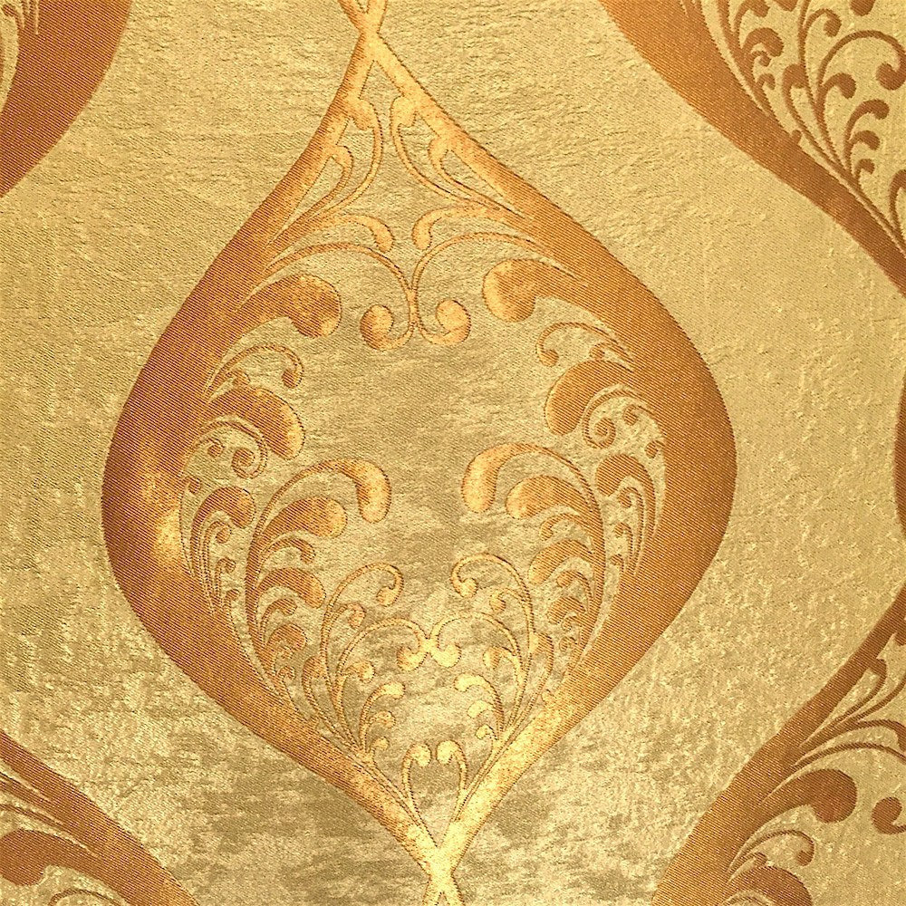 Gold Velvet Jacquard (907-3) Fabric