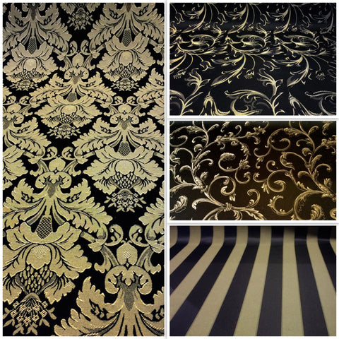 Jacquard Damask Fabric Collection | Beautiful Colors Designs Low ...