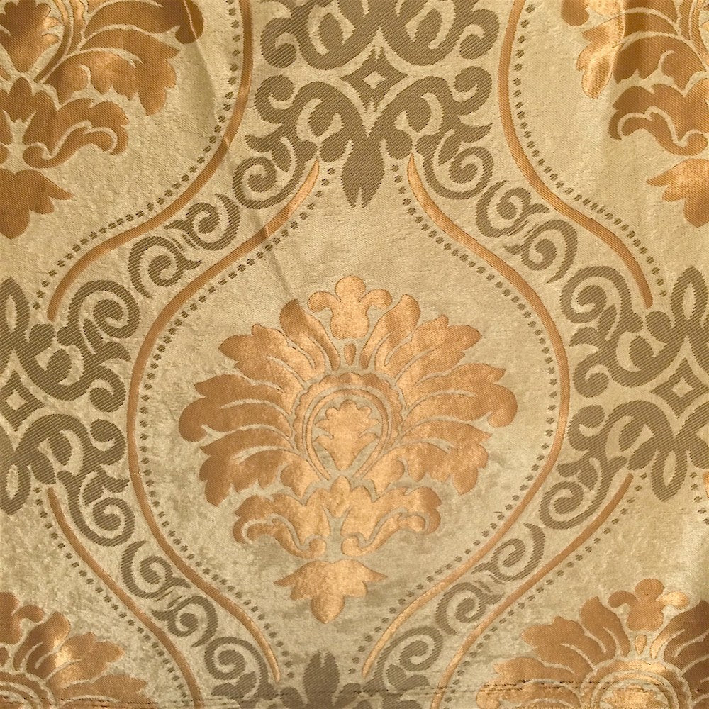 Gold Velvet Jacquard (914-3) Fabric