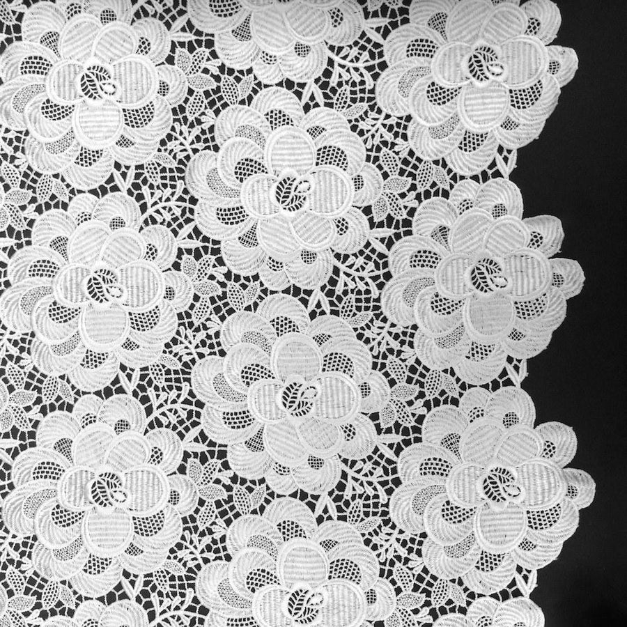 Blossom Guipure French Venice Lace Fabric