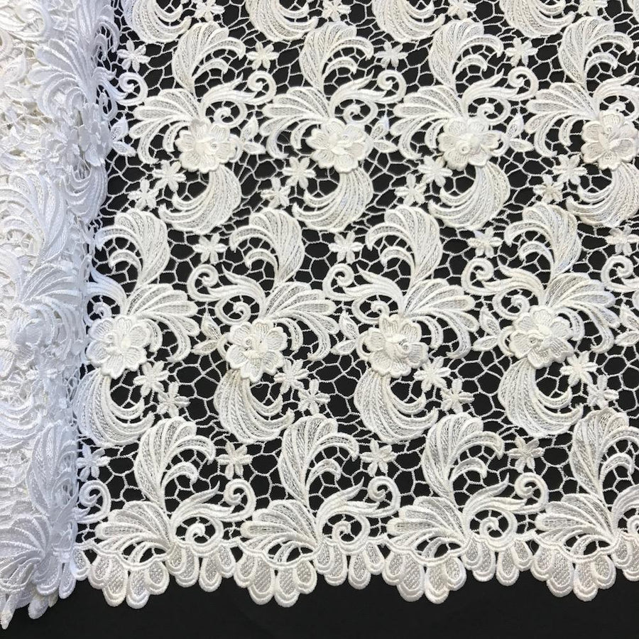 Gisselle Guipure French Venice Lace Fabric