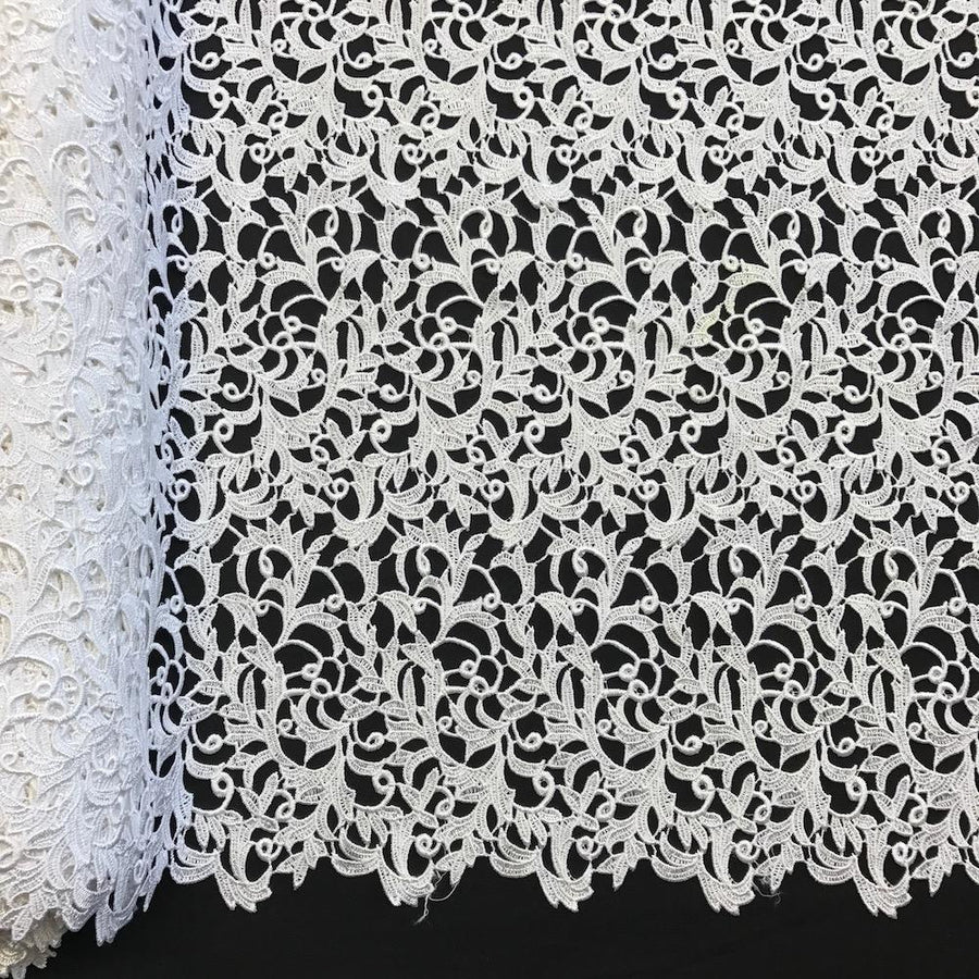 Heather Guipure French Venice Lace Fabric