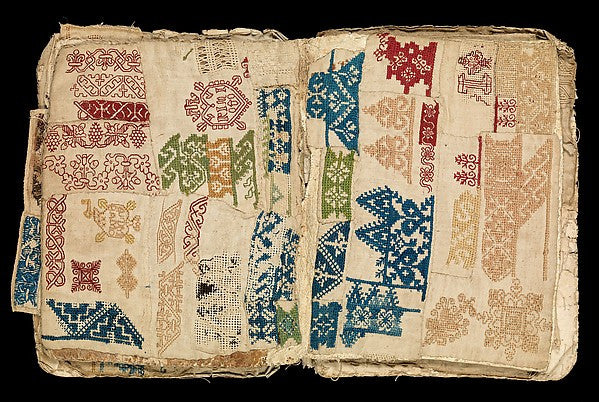 17th Century Embroidery Book