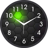 Load image into Gallery viewer, JaipurCrafts Plastic Wall Clock (Black , 2 X 12 X 12 Inch)