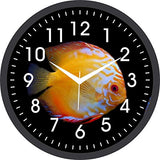 Load image into Gallery viewer, JaipurCrafts Designer Plastic Wall Clock for Home/Living Room/Bedroom/Kitchen- 12 in (with Ajanta Movement)