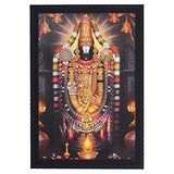Load image into Gallery viewer, JaipurCrafts Tirupati Balaji Large Framed UV Digital Reprint Painting (Wood, Synthetic, 36 cm x 51 cm)