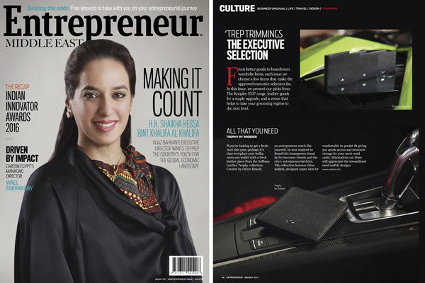 RODERER IN ENTREPRENEUR MAGAZINE