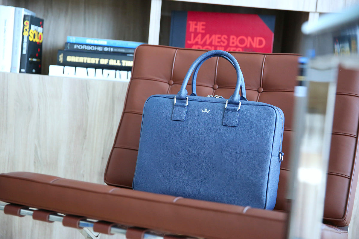 Roderer Business Bag Medium Milano Blue