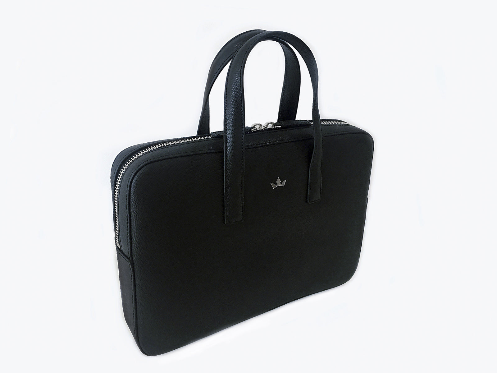 BUSINESS BAG SMALL TROPHY SAFFIANO BLACK