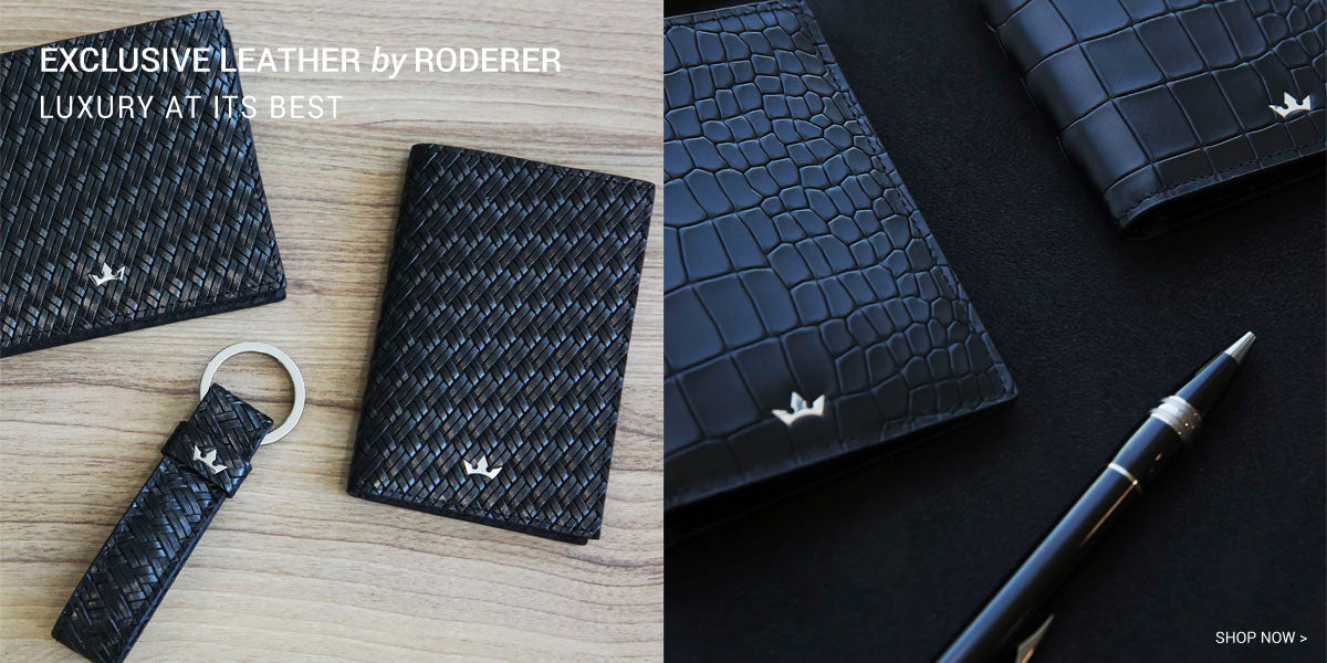 EXCLUSIVE LEATHER By RODERER