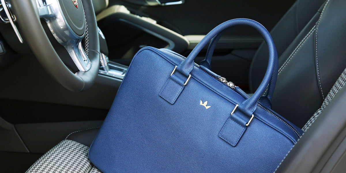 Roderer Business Bag Milano Blue