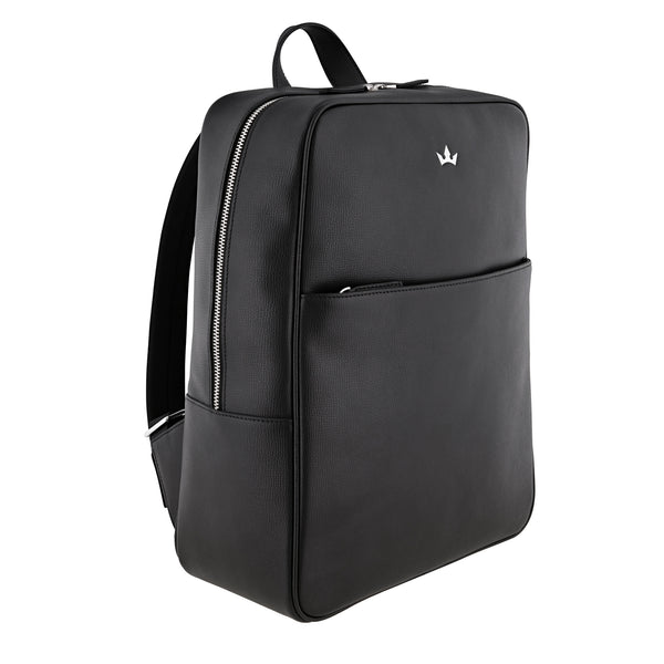 AWARD BACKPACK > ITALIAN LEATHER BLACK