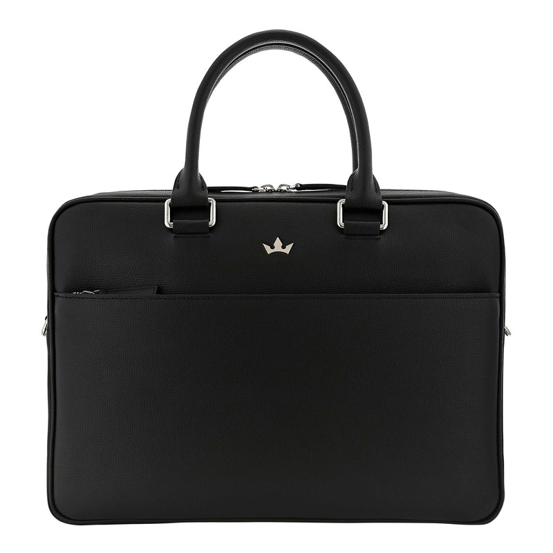 AWARD BRIEFCASE > ITALIAN LEATHER BLACK
