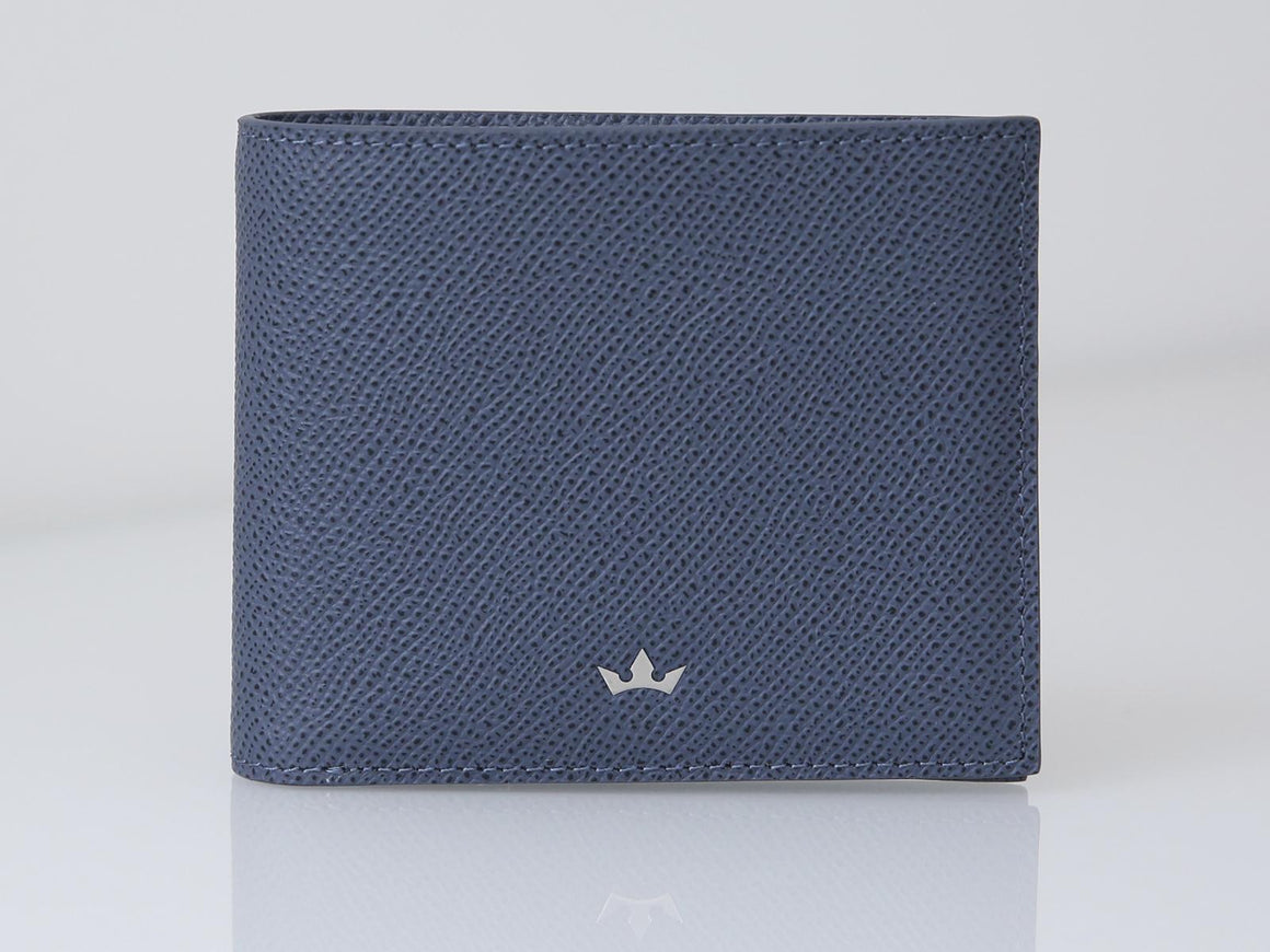 Bifold 8 Card Milano Blue