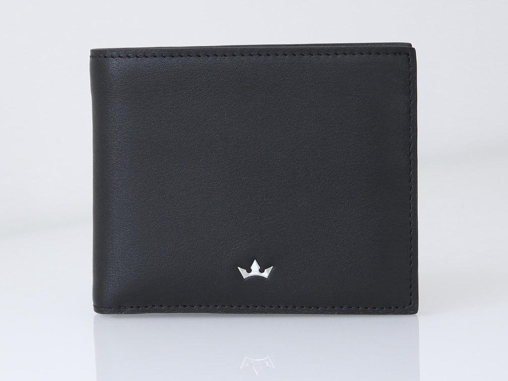 Roderer Bifold Wallet 8 Card Roma Black