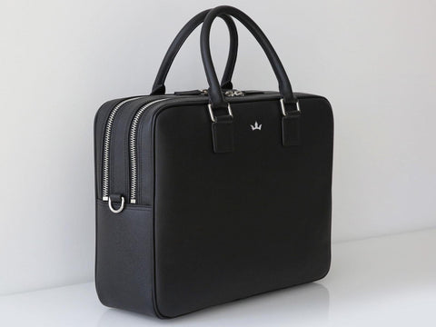 Roderer Double Compartment Business Bag Milano Black