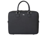 Roderer Single Compartment Business Bag Milano Black
