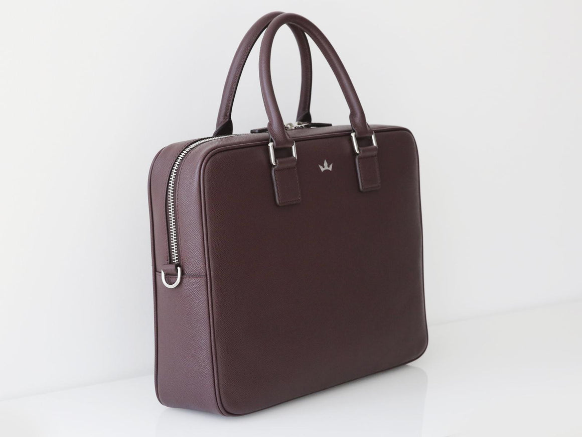 Roderer Business Bag Medium Milano Burgundy