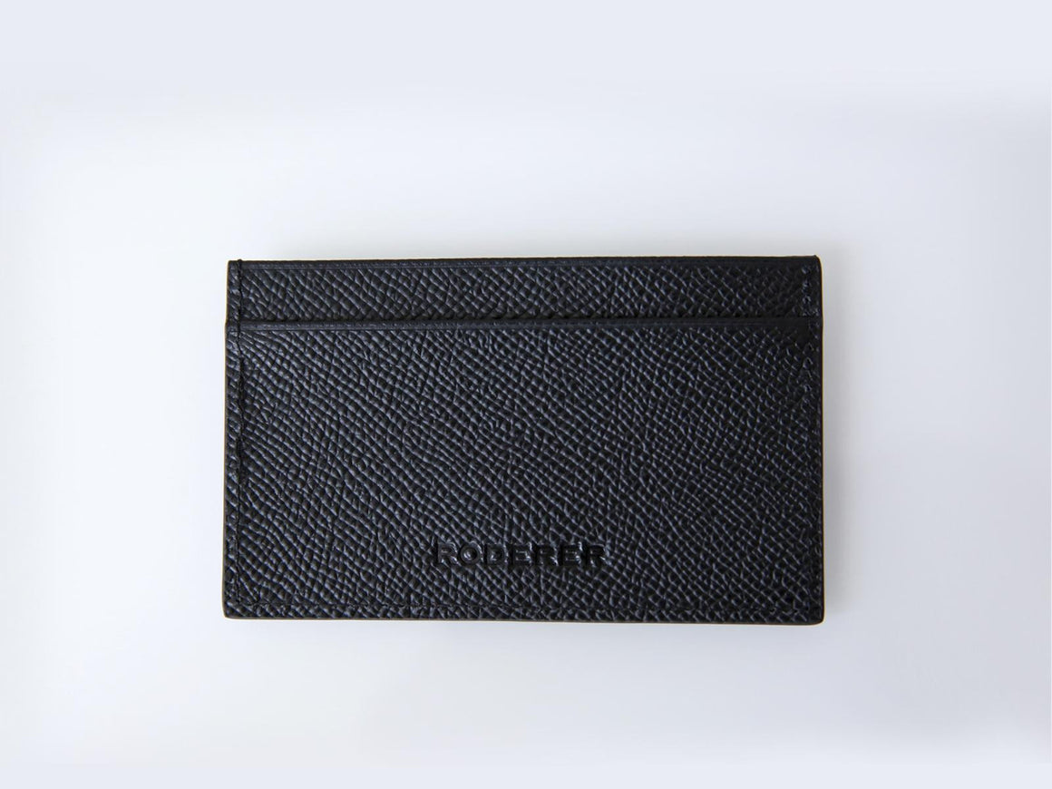 Roderer Card Holder 2 Card Milano Black