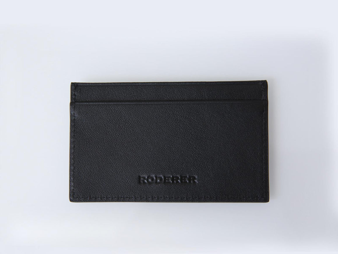 Roderer Card Holder 2 Card Roma Black