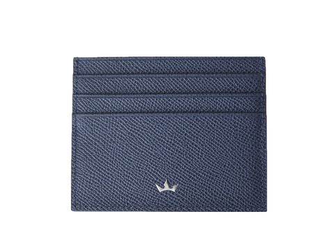 Bifold 6 Card Trophy Saffiano Black