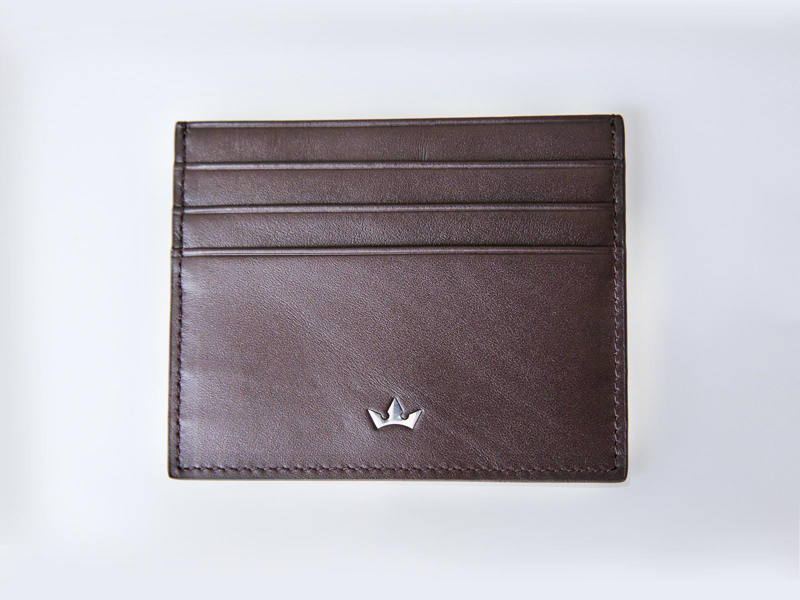 Roderer Card Holder 6 Card Roma Brown