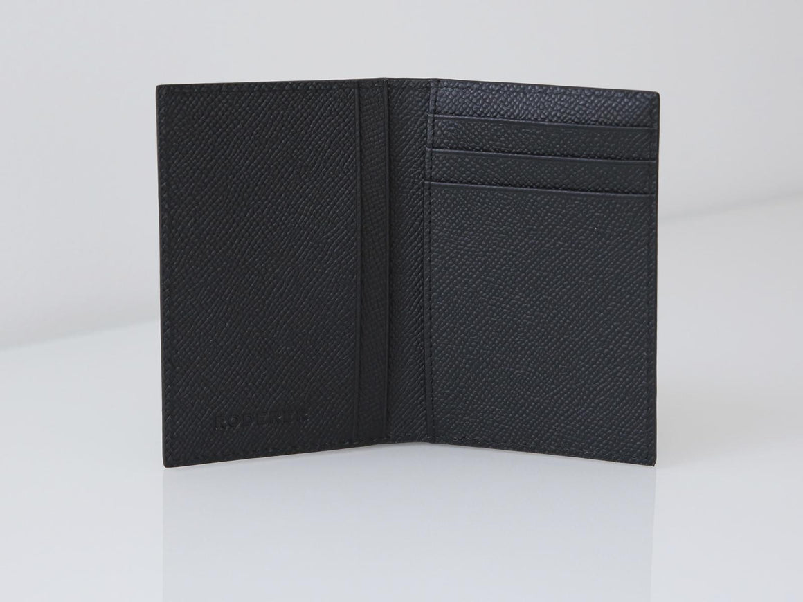 Roderer Card Holder Vertical Milano Black