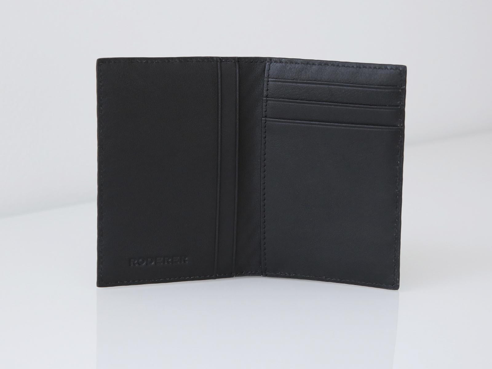 Roderer Card Holder Vertical Roma Black