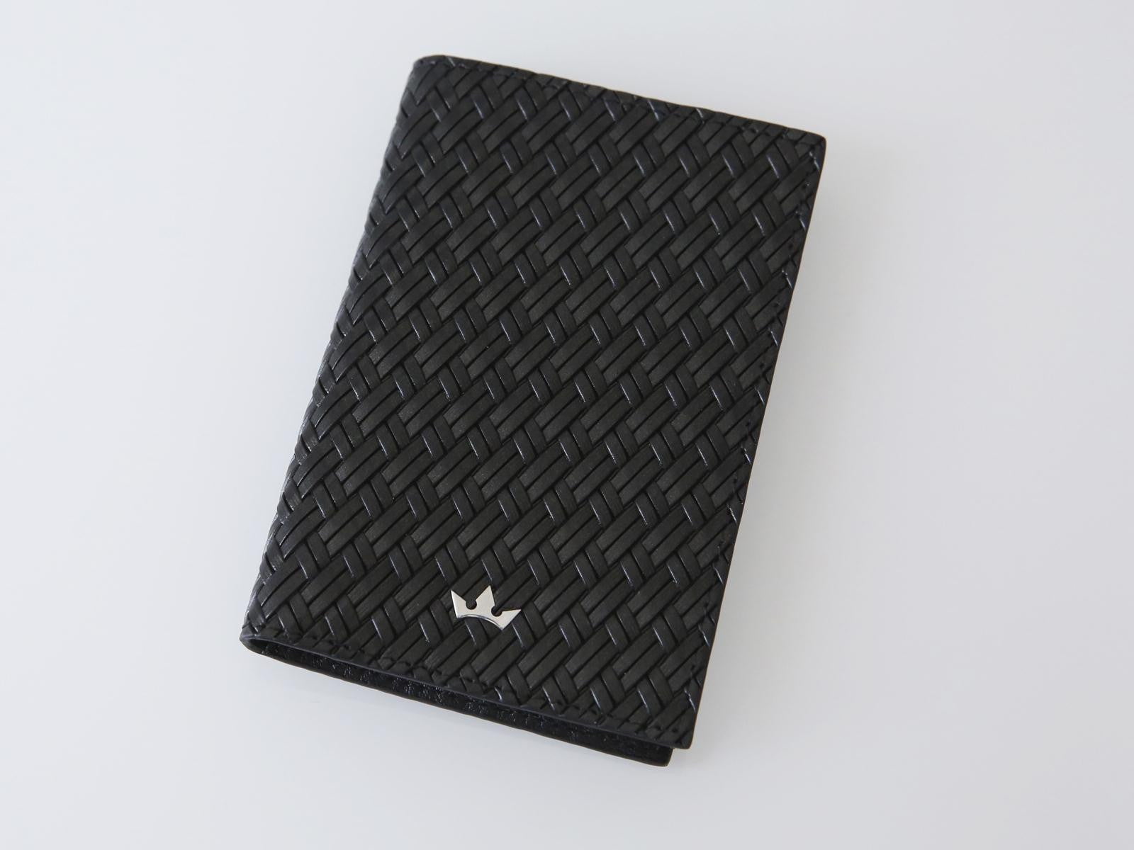 Roderer Card Holder Vertical Torino Black