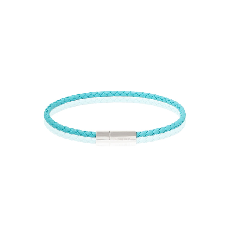 GIANNI BRACELET > STERLING SILVER CLASP TURQUOISE